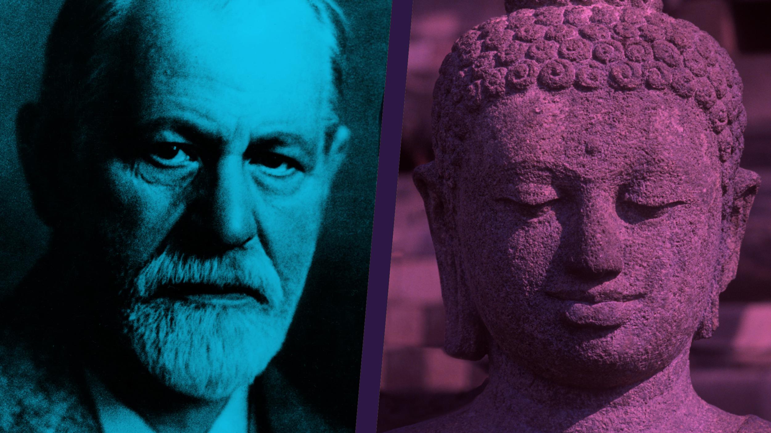 فروید و بودا: کاناپه و کوسن