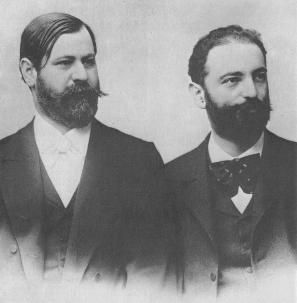 زیگموند فروید و ویلهلم فلیس